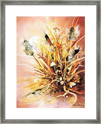 Cattails One Framed Print