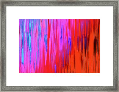 Framed Print featuring the photograph Cattails by Tony Beck