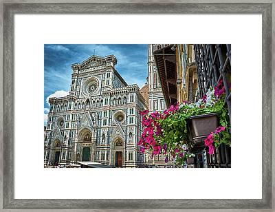 Cattedrale Di Santa Maria Del Fiore Framed Print