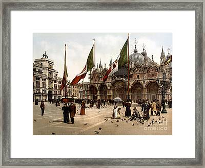 Cattedrale Patriarcale Di San Marco Framed Print by Science Source