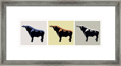 Cattle Baron Framed Print by Slade Roberts
