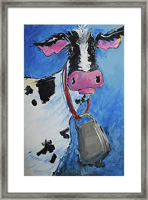 Cattle Call Framed Print