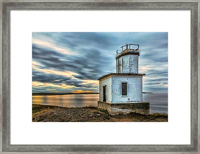 Cattle Point Lighthouse Framed Print by Thomas Ashcraft