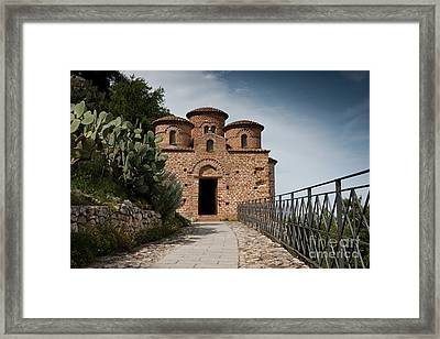 Framed Print featuring the photograph Cattolica Di Stilo by Bruno Spagnolo