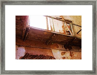 Catwalk At Eastern State Penitentiary Framed Print