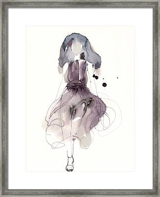 Catwalk Framed Print by Toril Baekmark