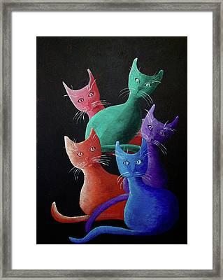 Catz Catz Catz Framed Print