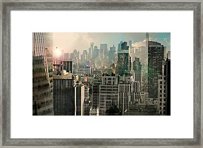 Caught In The Capture Framed Print
