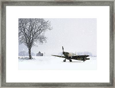 Caught In The Storm Framed Print by J Biggadike