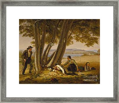 Caught Napping  Framed Print by Celestial Images
