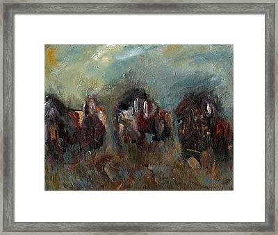 Caught Up In The Moment Framed Print by Frances Marino