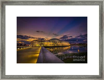 Causeway To Learning Framed Print by Marvin Spates
