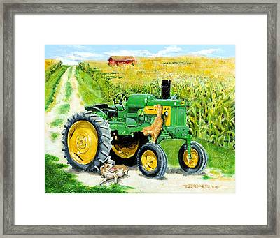 Causing Trouble Framed Print by Chris Dreher