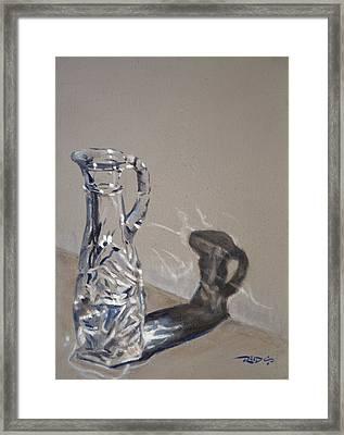 Caustics Study Framed Print by Christopher Reid