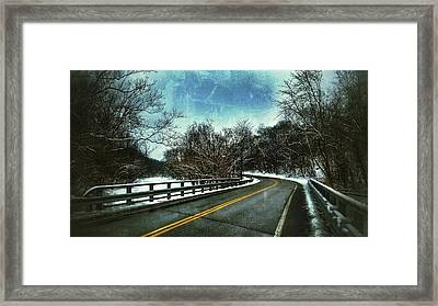 Caution Two Framed Print
