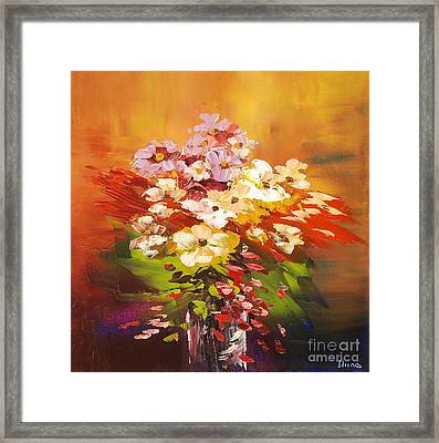 Cavalcade Of Color Framed Print by Tatiana Iliina