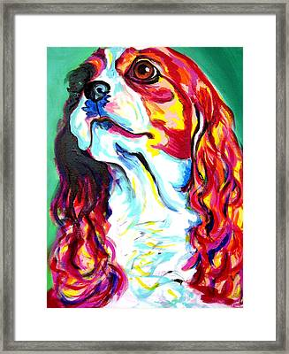 Cavalier - Herald Framed Print by Alicia VanNoy Call