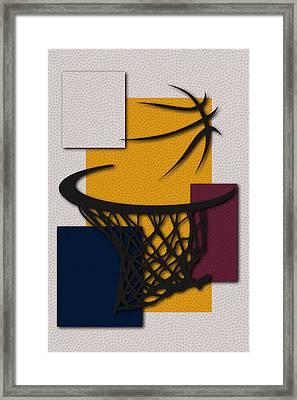 Cavaliers Hoop Framed Print by Joe Hamilton