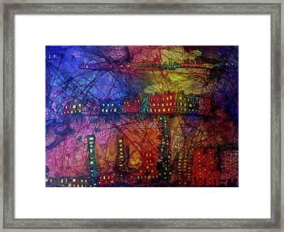 Cave City Framed Print
