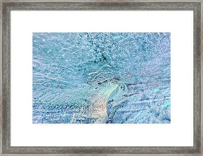 Framed Print featuring the photograph Cave Colors by Wanda Krack