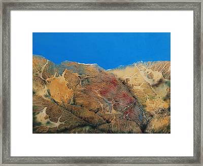 Cave Dweller Framed Print by Shirley McMahon