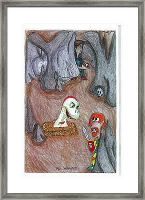 Cave Framed Print by Jayson Halberstadt