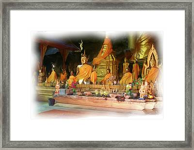Cave Of The Bat Temple 4 Framed Print
