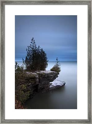 Cave Point Framed Print