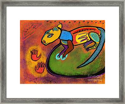 Cave Rat Framed Print