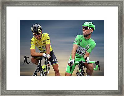 Cavendish V Sagan 2 Framed Print