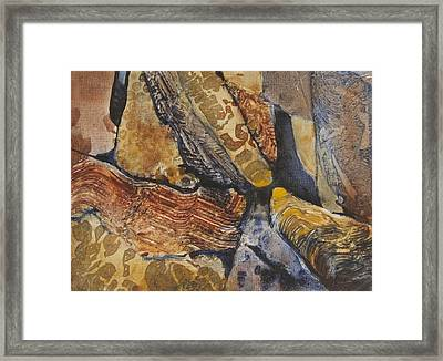 Cavern Framed Print