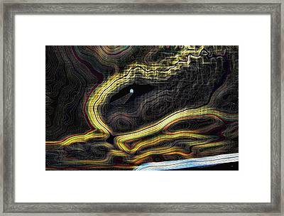 Cavern Framed Print by Will Borden