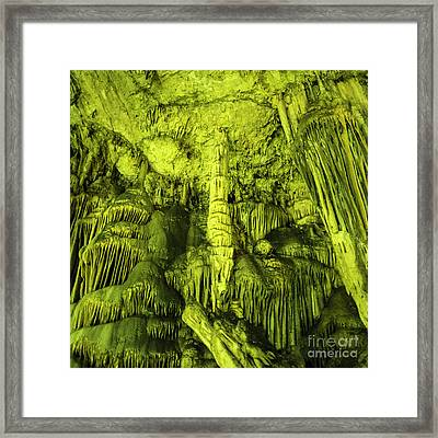 Caves Of Zeus  Framed Print by Rob Hawkins