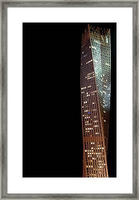 Cayan Tower Framed Print by Art Spectrum