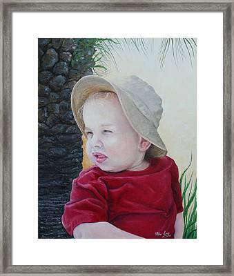 Cayden Framed Print