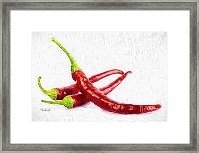 Cayenne Pepper  Framed Print