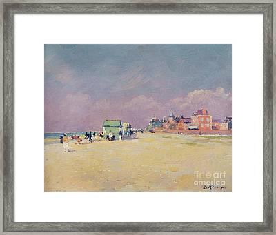 Cayeux Sur Mer Framed Print