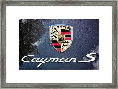 Cayman S Framed Print