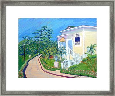 Cayo Levantado Framed Print
