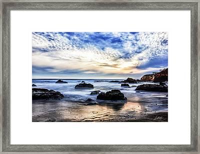 Cayucos Quietude Framed Print