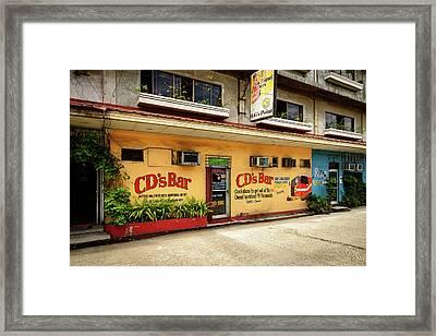 Cd's Bar  Framed Print by Michael Scott