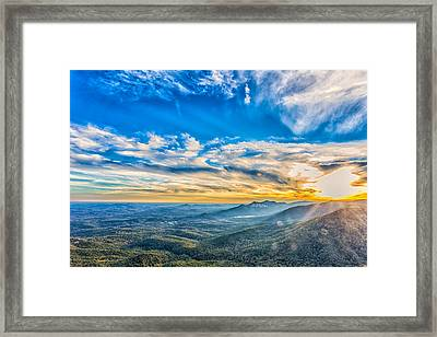 Caesar's Head State Park 1 Framed Print by Gestalt Imagery