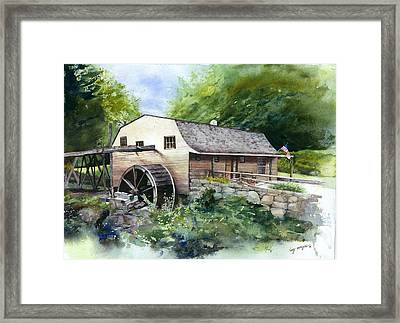Ceased From Its Labors Framed Print