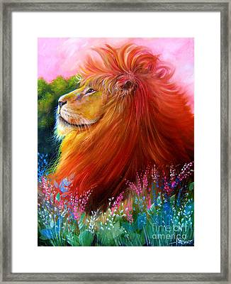 Cecil  Framed Print by Patrice Torrillo