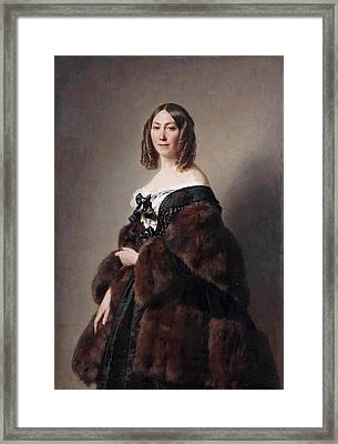 Cecile Charlotte Furtado-heine Framed Print