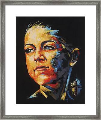 Cecilie Framed Print