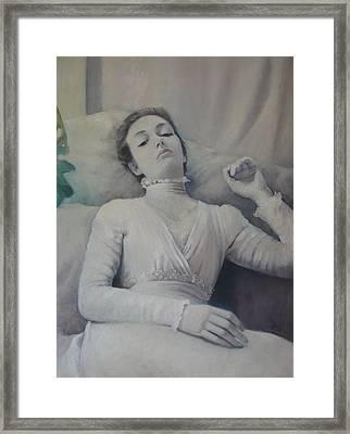Cecily Framed Print