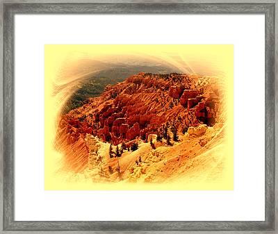 Cedar Breaks 2 Framed Print by Marty Koch