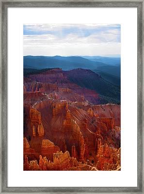 Cedar Breaks Brilliance Framed Print