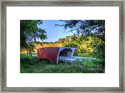 Cedar Bridge  Framed Print
